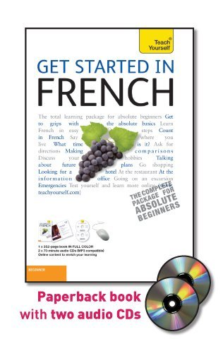Get Started in French  5th 2011 9780071749831 Front Cover