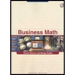 Business Math  7th 2005 edition cover