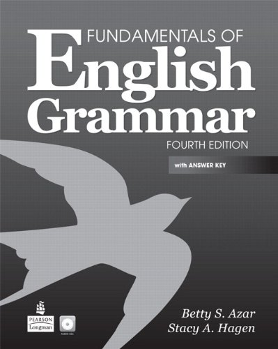 Fundamentals of English Grammar  4th 2011 edition cover