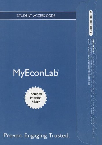 NEW MyEconLab with Pearson EText -- Stanalone Access Card -- for Principles of Macroeconomics  11th 2014 edition cover