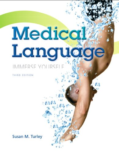 Medical Language  3rd 2014 9780133346831 Front Cover