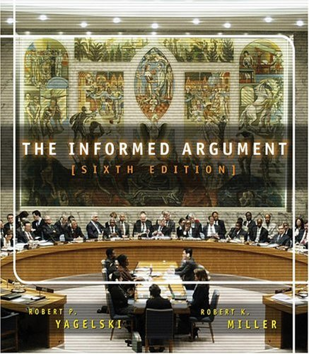 Informed Argument  6th 2004 edition cover