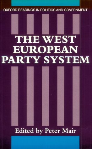 West European Party System   1990 9780198275831 Front Cover