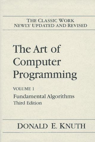 Art of Computer Programming - Fundamental Algorithms  3rd 1998 (Revised) edition cover