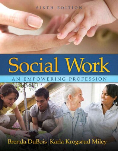 Social Work An Empowering Profession 6th 2008 edition cover