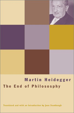 End of Philosophy   2003 9780226323831 Front Cover