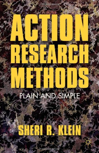 Action Research Methods Plain and Simple  2012 9780230113831 Front Cover