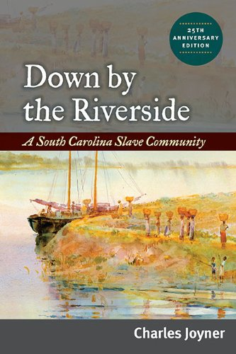 Down by the Riverside A South Carolina Slave Community 2nd 2009 (Anniversary) edition cover