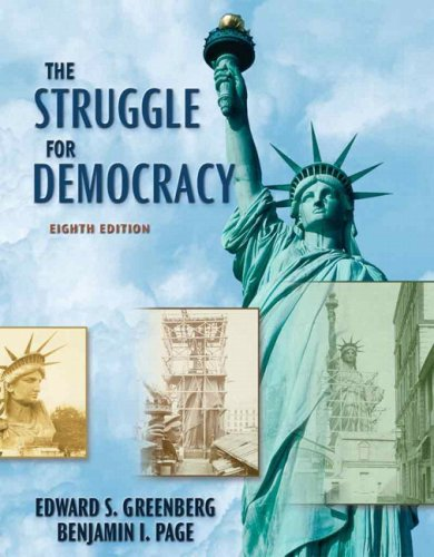 Struggle for Democracy  8th 2007 edition cover