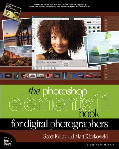 Photoshop Elements 11 Book for Digital Photographers  2013 edition cover