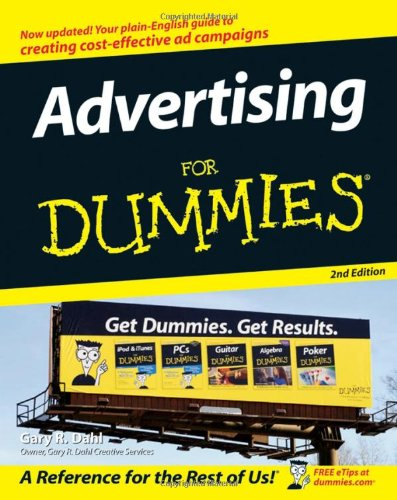 Advertising for Dummies�  2nd 2007 (Revised) edition cover