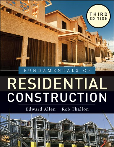 Fundamentals of Residential Construction 3rd 2011 edition cover