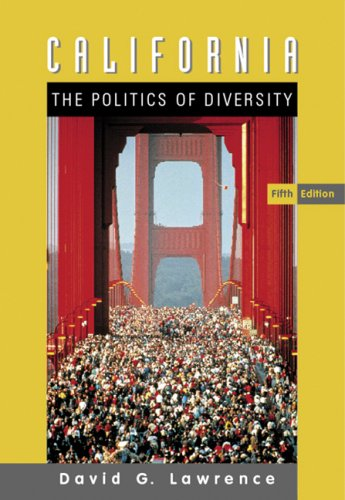 California The Politics of Diversity 5th 2008 (Revised) edition cover