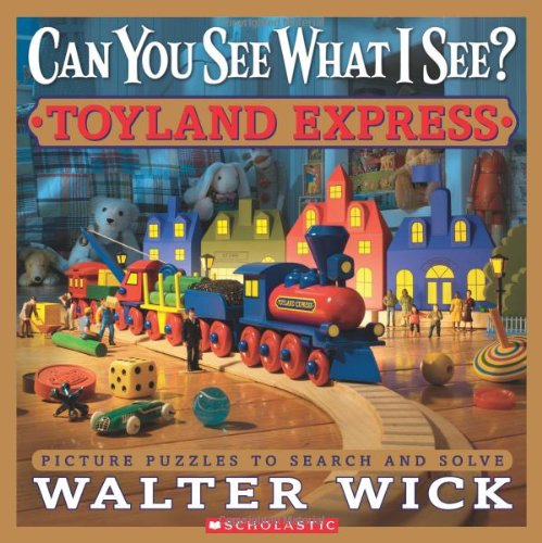 Toyland Express Picture Puzzles to Search and Solve  2011 9780545244831 Front Cover