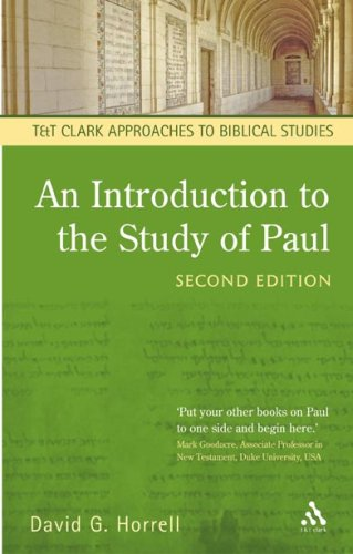 Introduction to the Study of Paul  2nd 2006 (Revised) edition cover
