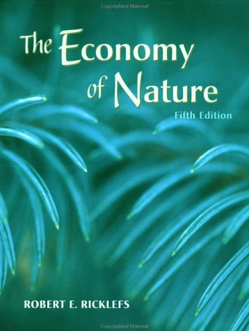 Economy of Nature  5th 2001 9780716738831 Front Cover