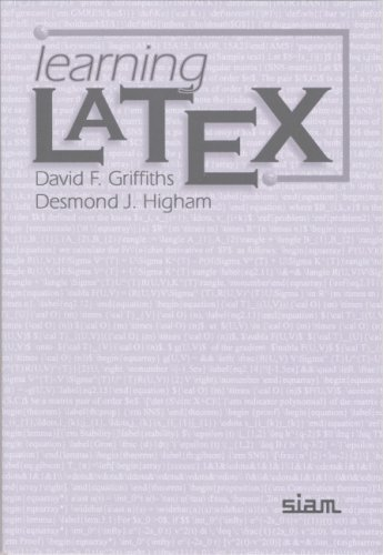 Learning LATEX   1997 edition cover