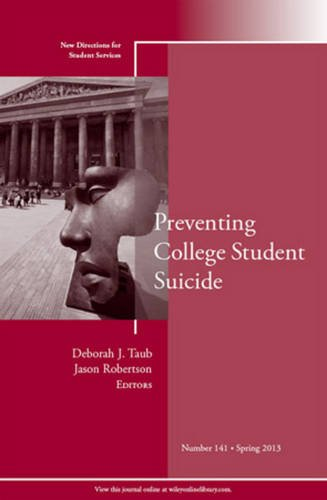 Preventing College Student Suicide   2013 edition cover