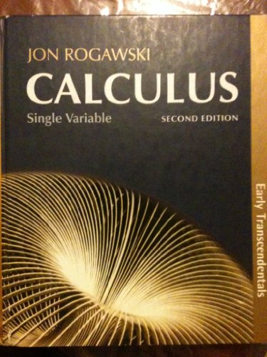 Calculus Single Variable 2nd 2012 edition cover