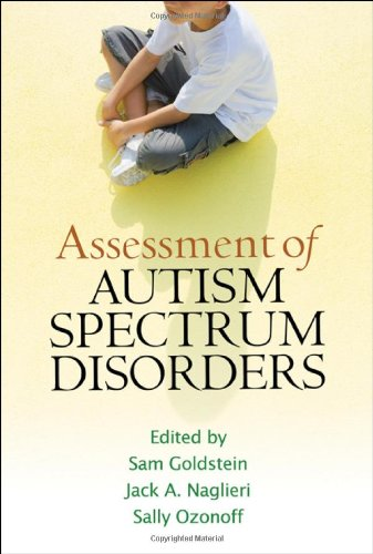 Assessment of Autism Spectrum Disorders   2009 edition cover