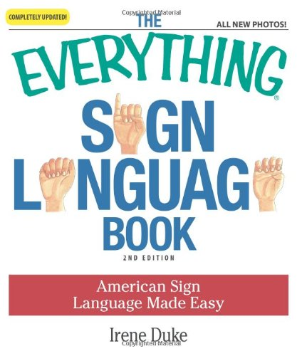 Sign Language Book American Sign Language Made Easy 2nd 2009 edition cover