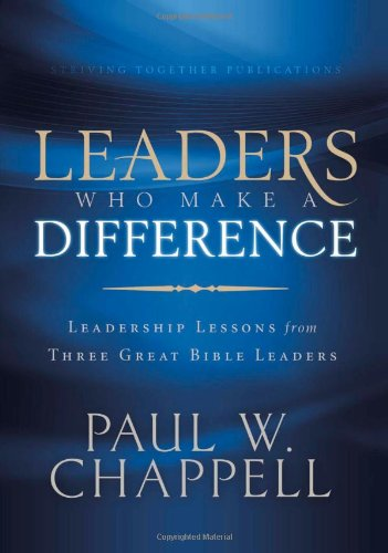 LEADERS WHO MAKE A DIFFERENCE  N/A edition cover