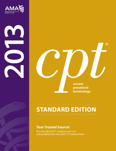 CPT, Standard Edition Current Procedural Terminology  2012 edition cover