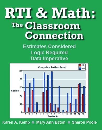 RTI and Math The Classroom Connection  2009 edition cover