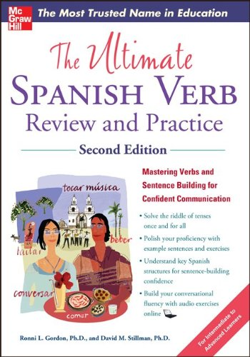 Ultimate Spanish Verb Review and Practice  2nd 2013 edition cover