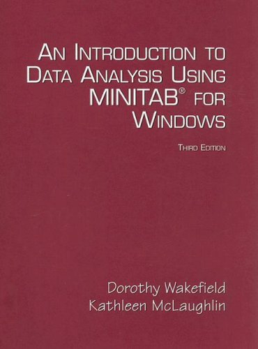 Introduction to Data Analysis Using Minitab for Windows  3rd 2005 (Revised) edition cover