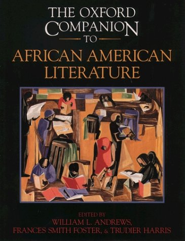 Concise Oxford Companion to African American Literature   2000 9780195138832 Front Cover
