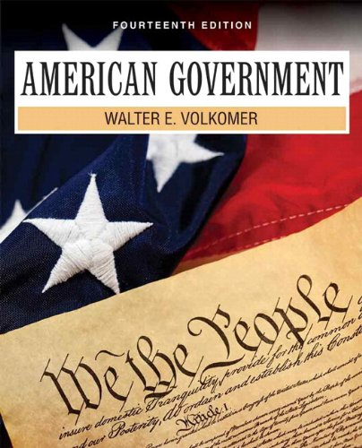 American Government  14th 2013 edition cover