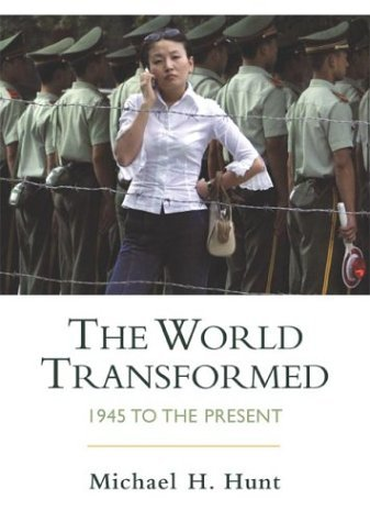 World Transformed 1945 to the Present  2004 edition cover