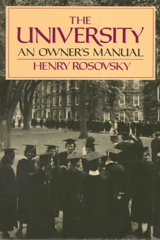 University An Owner's Manual  1991 edition cover