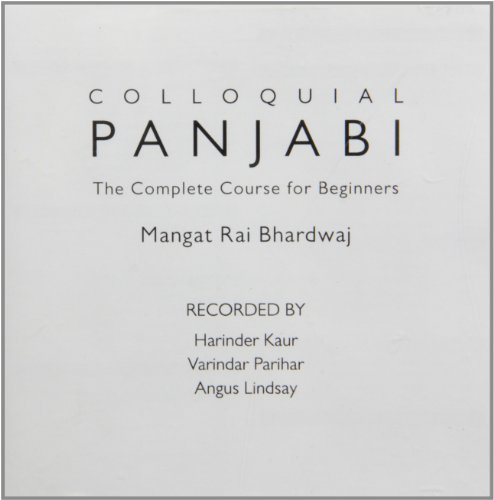 Colloquial Panjabi: The Complete Course for Beginners  2012 edition cover