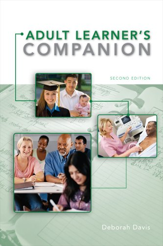 Adult Learner's Companion A Guide for the Adult College Student 2nd 2012 edition cover