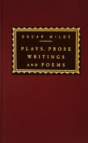 Plays, Prose Writings and Poems  N/A edition cover