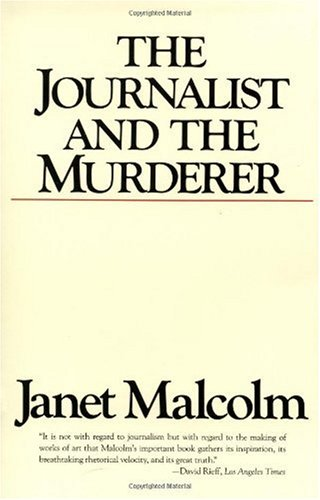 Journalist and the Murderer   1990 edition cover