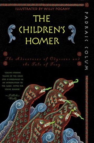 Children's Homer The Adventures of Odysseus and the Tale of Troy  2004 edition cover