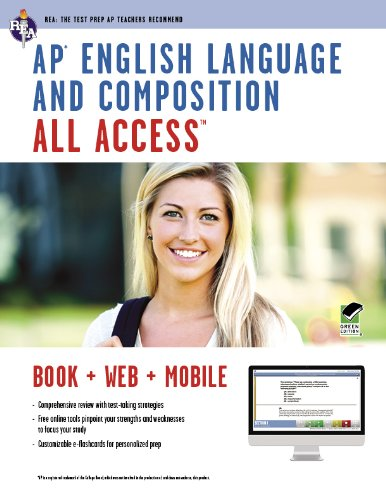 Ap English Language and Composition All Access:   2013 edition cover