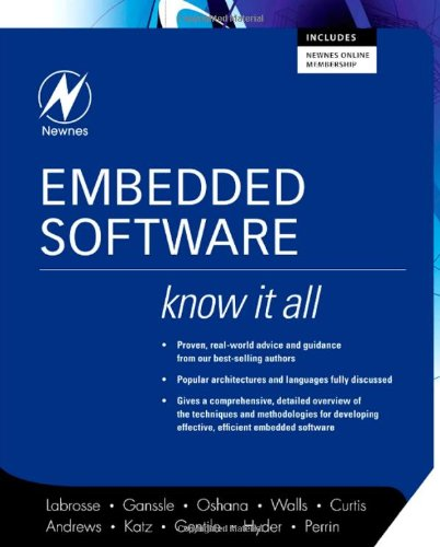 Embedded Software   2008 9780750685832 Front Cover