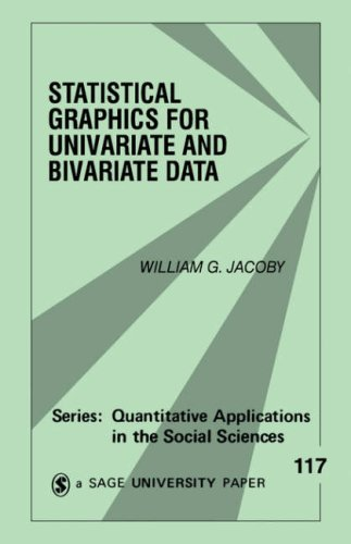 Statistical Graphics for Univariate and Bivariate Data   1997 9780761900832 Front Cover
