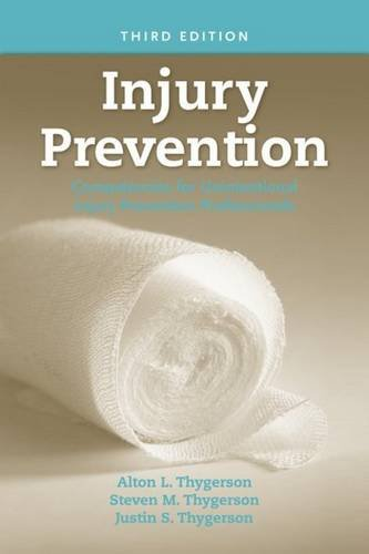Injury Prevention Competencies for Unintentional Injury Prevention Professionals 3rd 2008 (Revised) edition cover