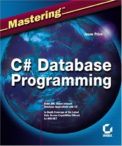 C# Database Programming   2003 edition cover