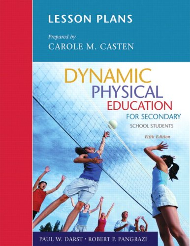 Lesson Plans Dynamic Physical Education for Secondary School Students  5th 2006 (Revised) edition cover