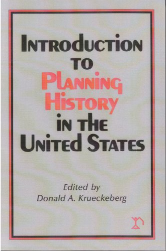 Introduction to Planning History in the United States   1983 edition cover