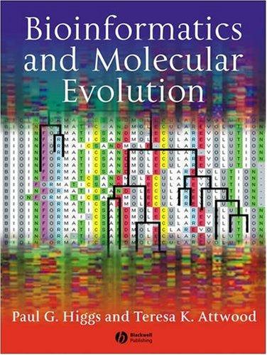 Bioinformatics and Molecular Evolution   2005 edition cover