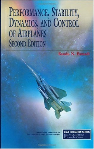 Performance, Stability, Dynamics, and Control of Airplanes  2nd 2003 edition cover