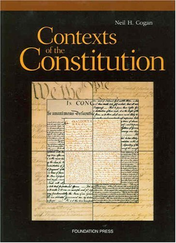 Contexts of the Constitution Documentary Supplement   1999 (Supplement) edition cover