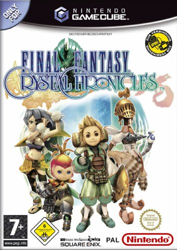 Final Fantasy: Crystal Chronicles GameCube artwork